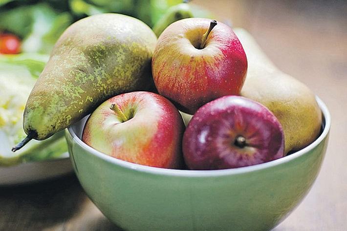 фрукты с утра