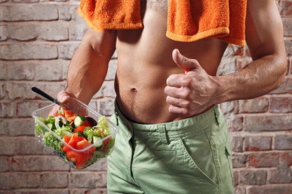 Диета для похудения живота и боков для мужчин: меню на неделю