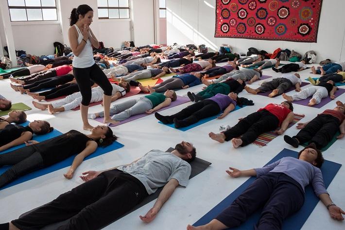 йога под руководством
