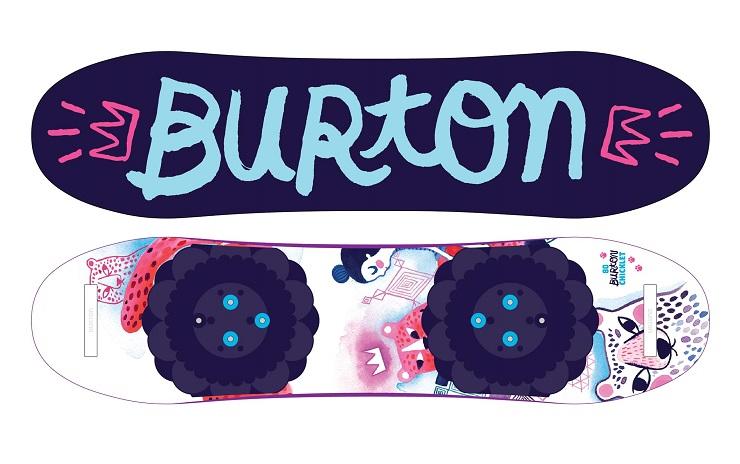 Burton chicklet girls