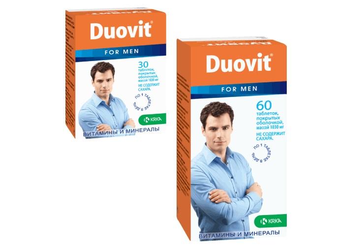 Дуовит для мужчин