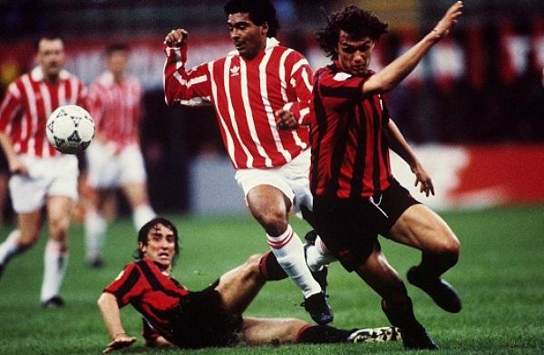 против Милана