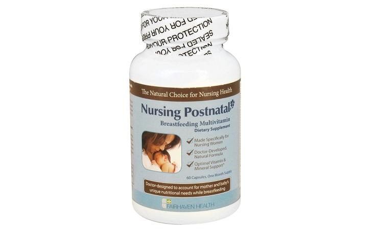 Fairhaven health nursing postnatal breastfeeding multivitamin
