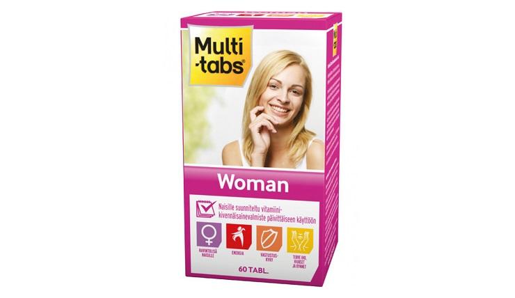 Multi tabs woman 50