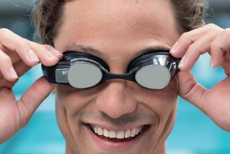 очки на голове