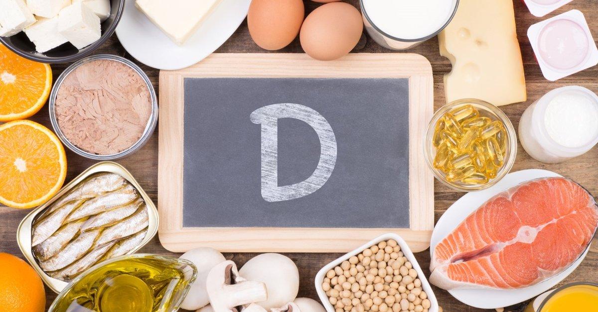 продукты и витамин Д