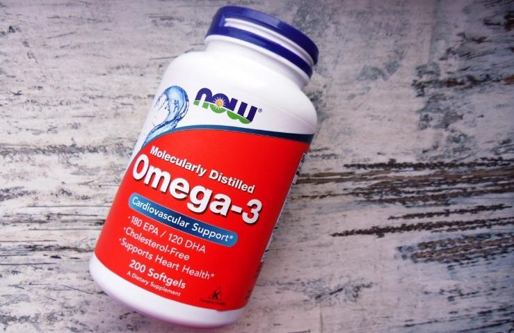 Омега-3 Now Foods
